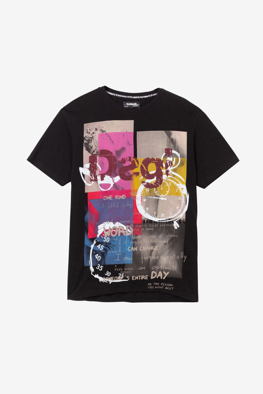 100% cotton print T-shirt | Desigual