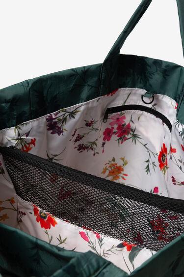 Bolsa floral con bolsillo extraíble | Desigual