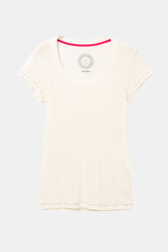 Yellow T-shirt Basic Petite | Desigual