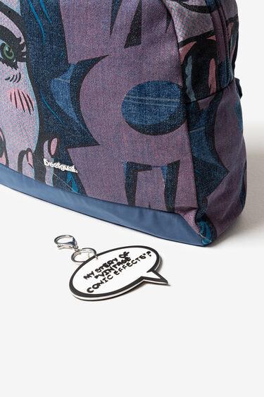 Comic denim backpack   Desigual