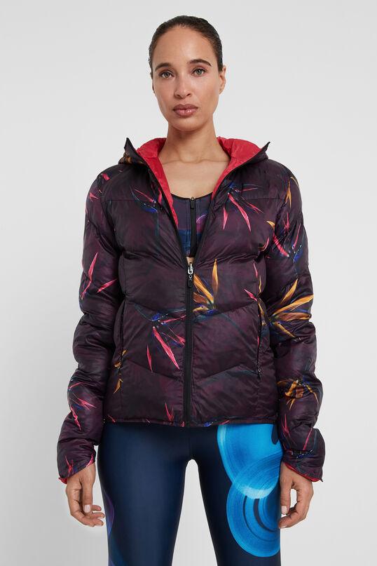 Padded reversible floral jacket | Desigual