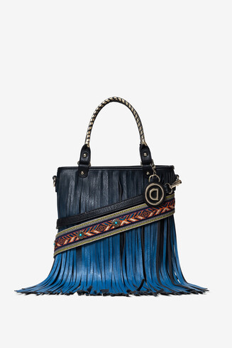 Fringe in degradé bag