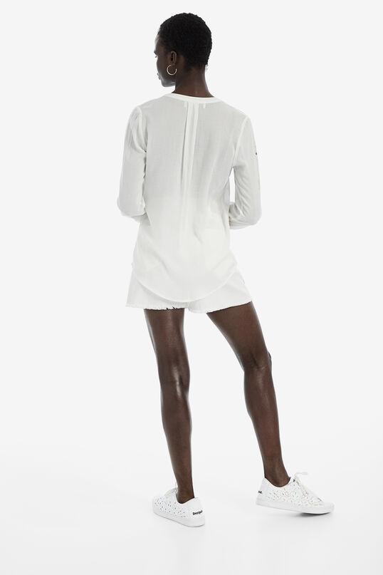 Long-sleeved jacquard shirt | Desigual