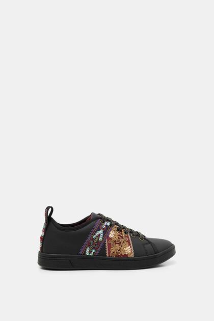 Boho canvas sneaker