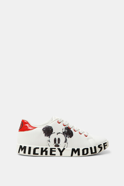 Mickey Mouse low-top sneakers