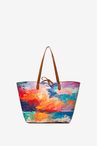 Reversible Beach Bag Capri