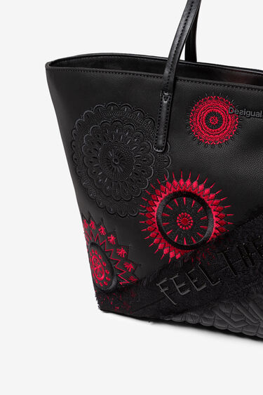 Embroidered mandalas bag | Desigual