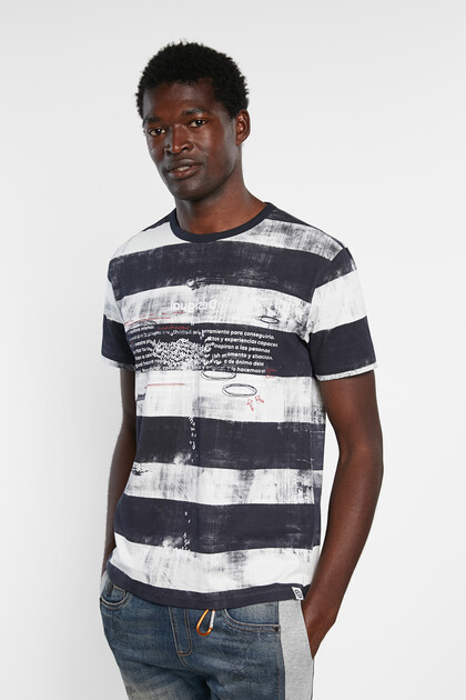 Striped T-shirt 100% cotton