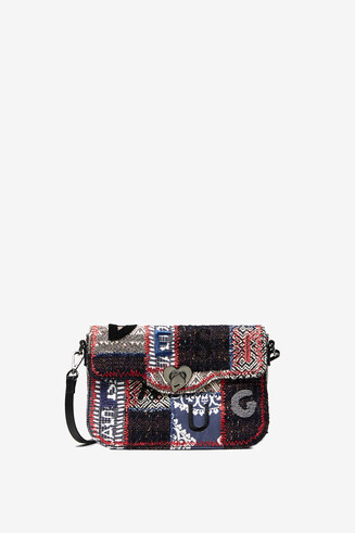 Fabric patchwork bag