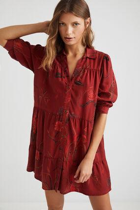 Robe chemise courte