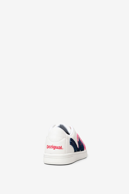 White painted sneakers | Desigual
