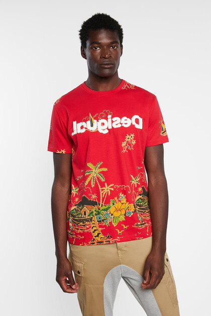 Basic T-shirt tropical