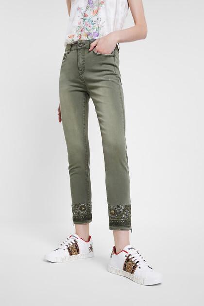 Skinny exotic jeans