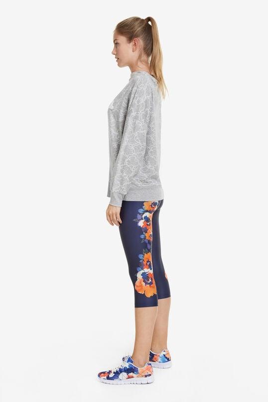 Sweatshirt Camo Flower | Desigual