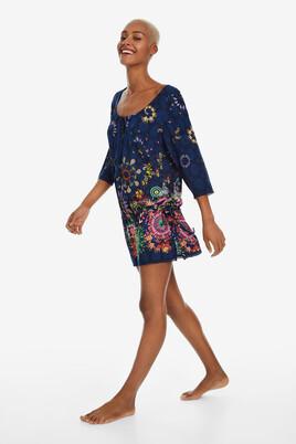 9b13c2718e Beach Dress with Ruffle Melina