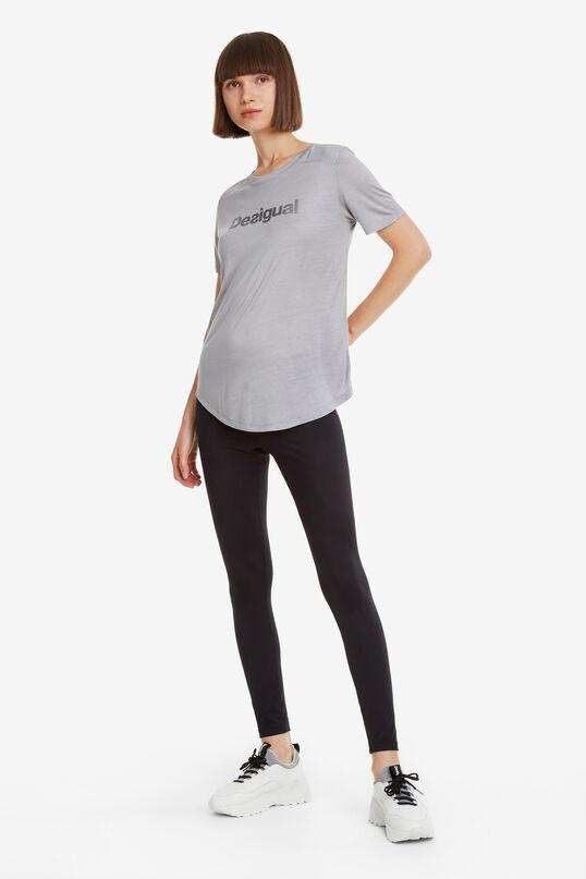 Camiseta deporte gris Essentials tee | Desigual