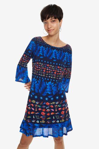 Bell-Sleeve Dress Calesi