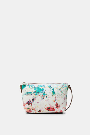 Leather strap and chain sling bag | Desigual