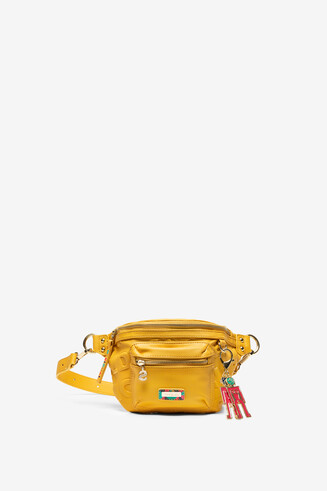 Yellow Bum Bag with Keyring Colorama