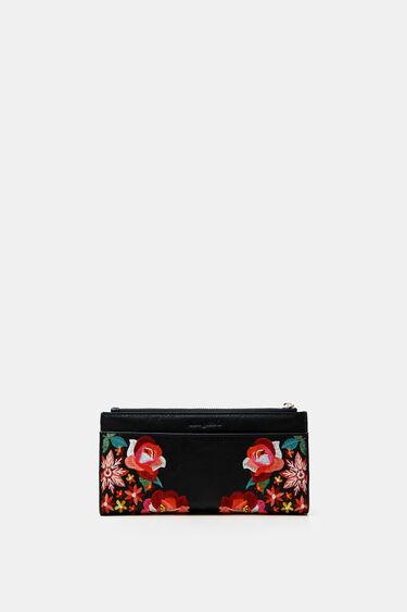 Long floral coin purse | Desigual