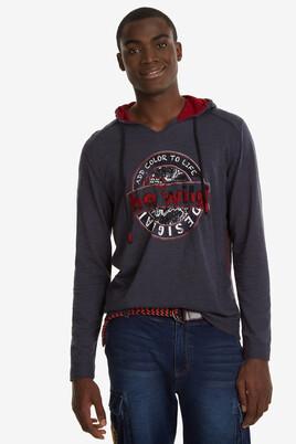 Print Hooded T-shirt Tolco