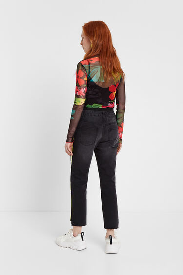 Floral tulle T-shirt | Desigual
