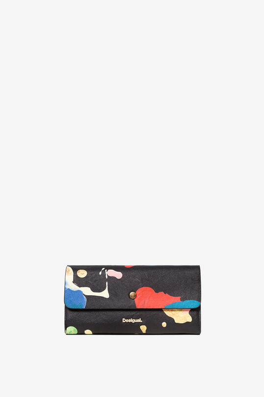 Arty reversible coin purse   Desigual