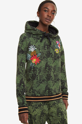 Tropical Sweatshirt Klimt