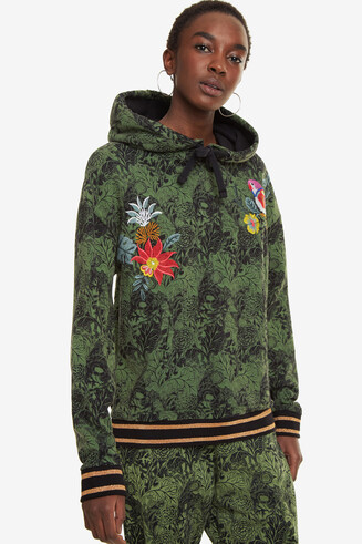 Tropical Sweatshirt Klimt