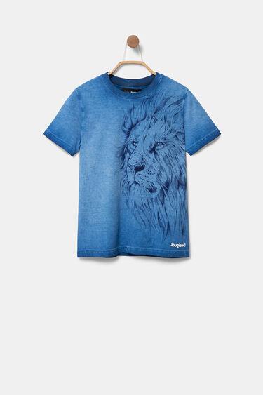 T-shirt imprimé lion stylomania | Desigual