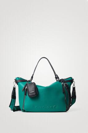 Grand sac à main couleur unie