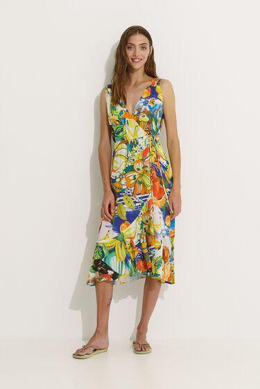 Tropical beach dress | Desigual