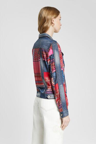 Boho patch denim jacket | Desigual