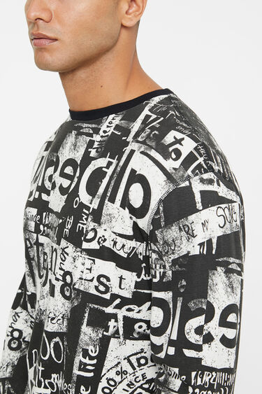 T-shirt arty 100% coton | Desigual
