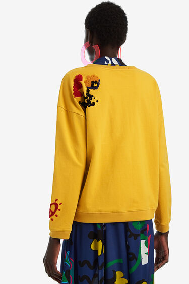 Sweatshirt with Love embroidery | Desigual