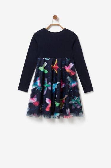 Flared dress birds colours | Desigual