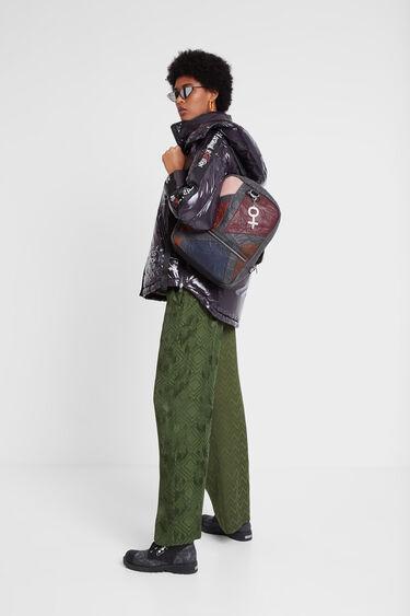 Medium patchwork backpack | Desigual