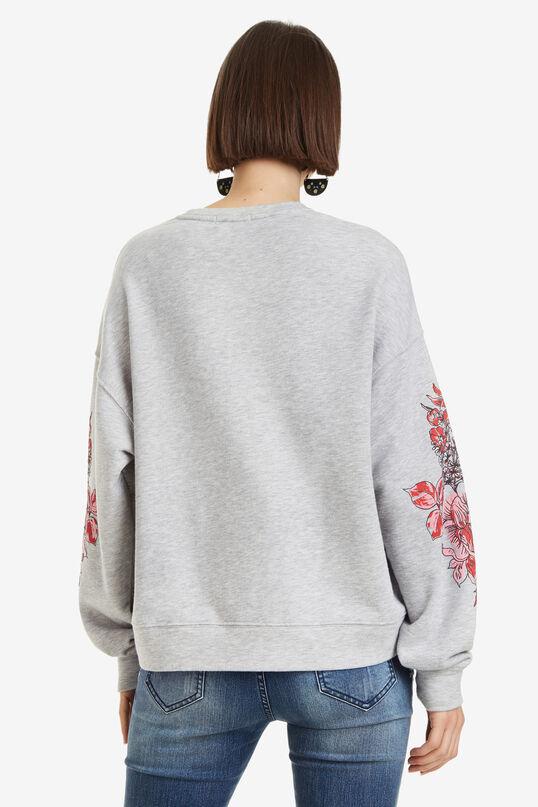 Duna Grey Mandala Sweatshirt   Desigual