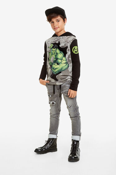 T-shirt with Marvel hood | Desigual