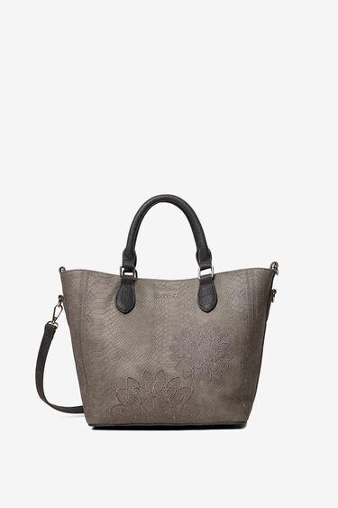 2 in 1 snakeskin-effect bag | Desigual