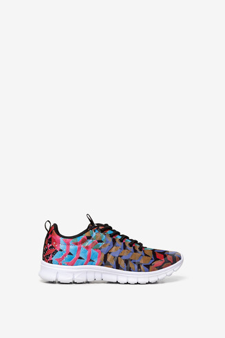 Patch print runner trainers