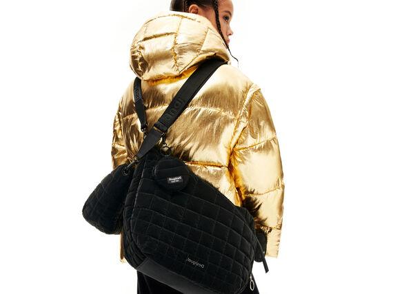 Padded sling bag
