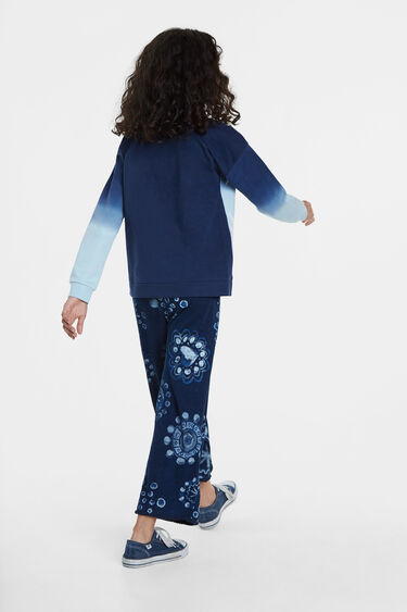 Sweatshirt palm trees print | Desigual