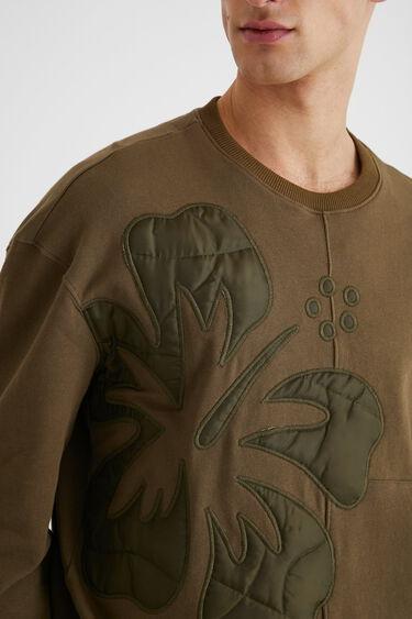 Oversize-Sweater asymmetrischer Saum | Desigual