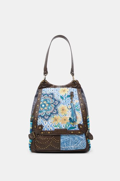 Backpack floral studs