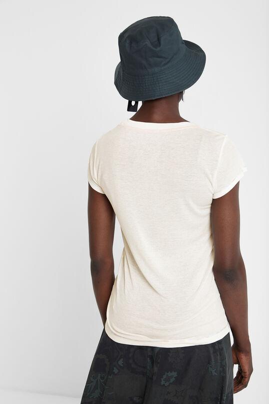 T-shirt jaune Basic Petite | Desigual
