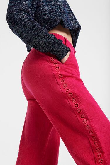 Pantalón culotte mandalas laterales | Desigual