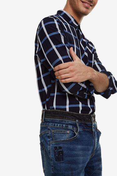 Trousers denim lettering | Desigual