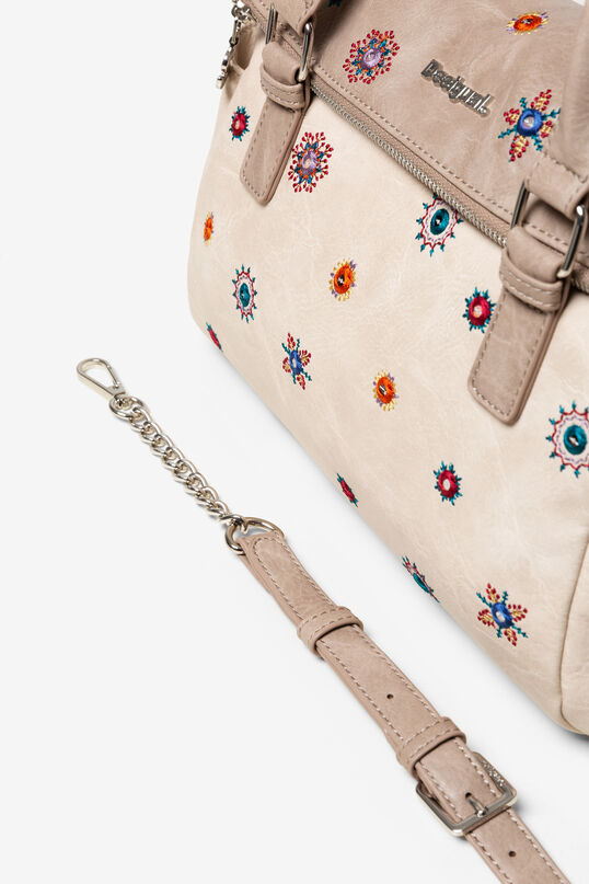 Sac mallette nude Julietta Loverty | Desigual