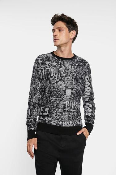 Knit jumper bolimania | Desigual
